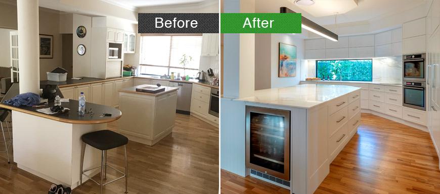 Kitchen renovation in perth