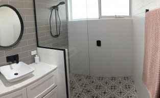 Feature floor tiles